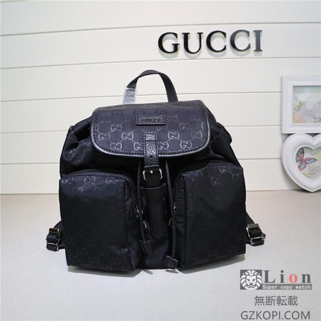 Gucci グッチ バッグ リュックサック 黑色 GU-N406361-1
